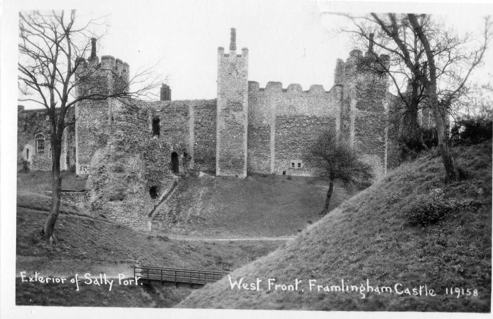 West front of Castle