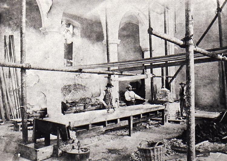Restoration Work c.1888