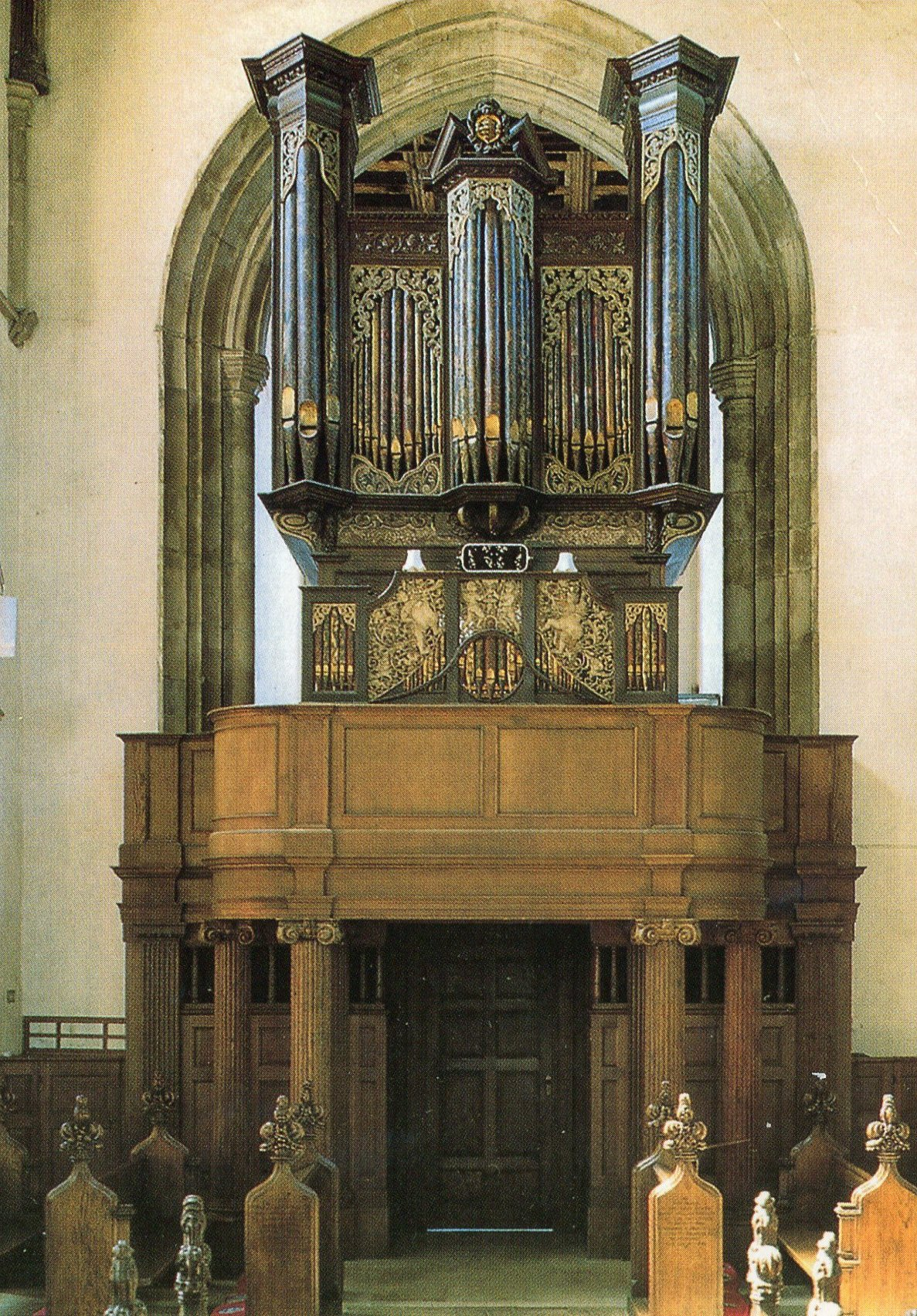 The Thamar organ