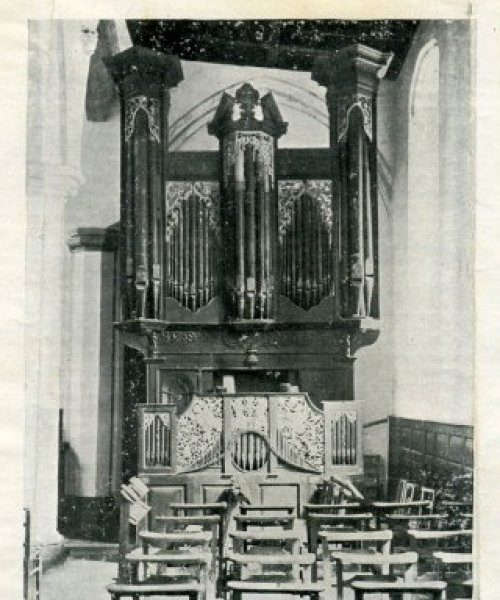 Church Organ c.1889
