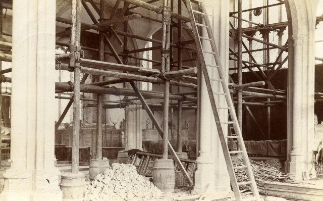 Restoration Work 1908