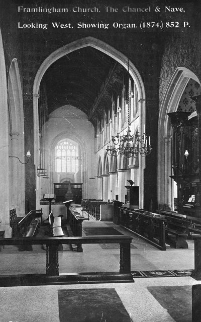 Church Interior 1909