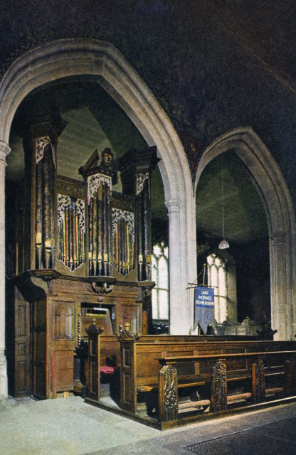 Organ In Chancel