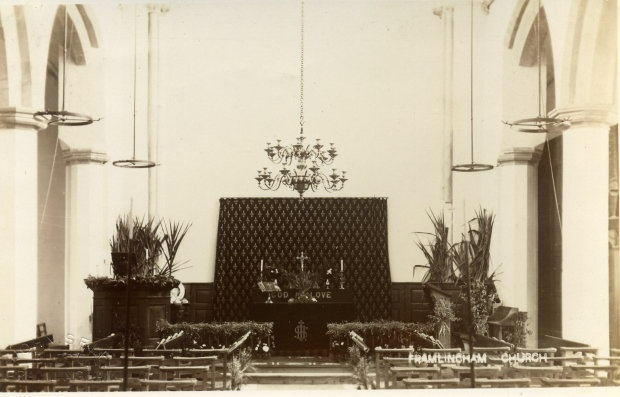Church Interior c.1908