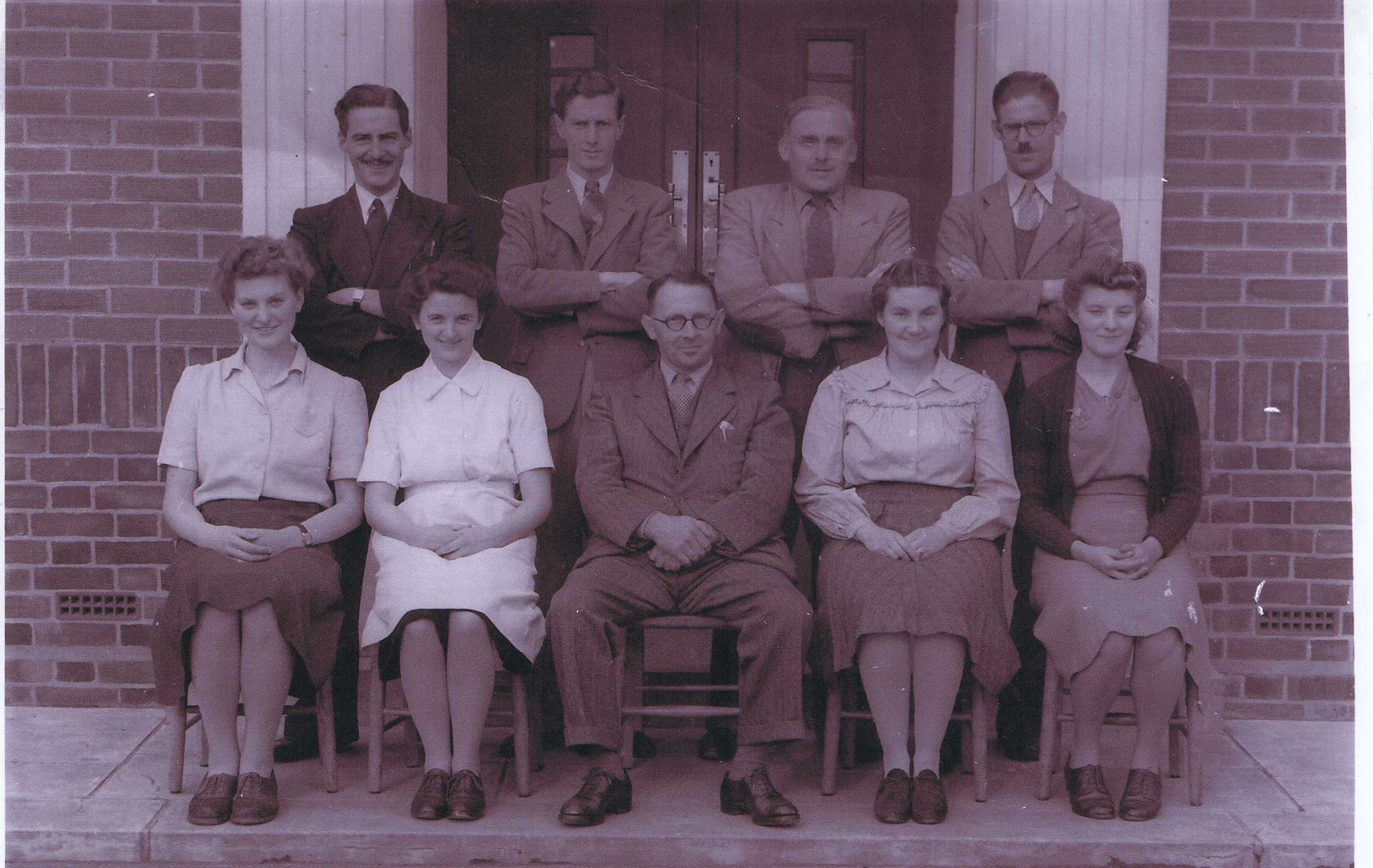 Area School Staff c.1947
