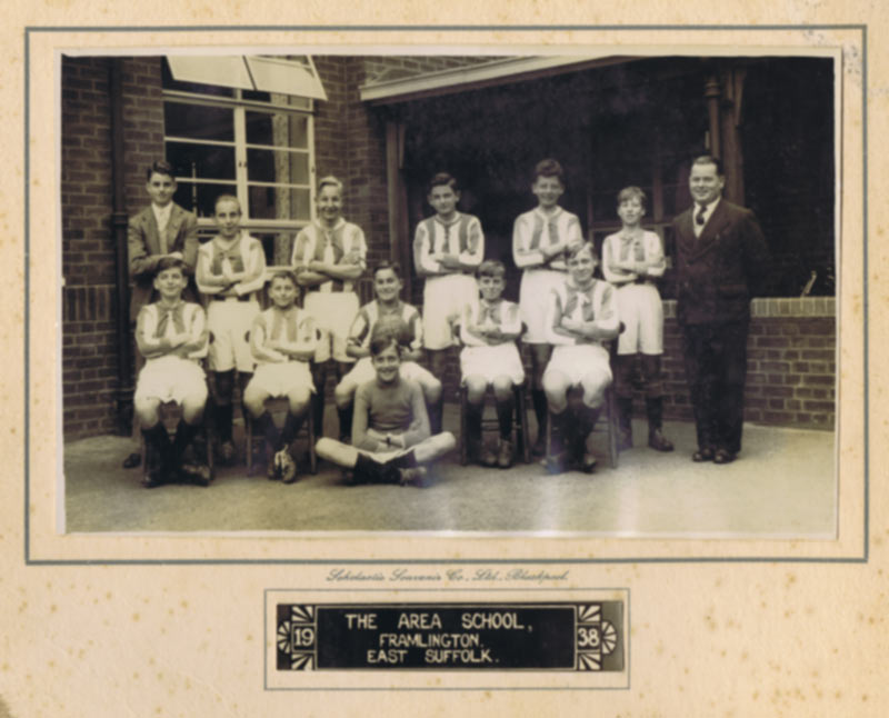 Area School Football Team 1938