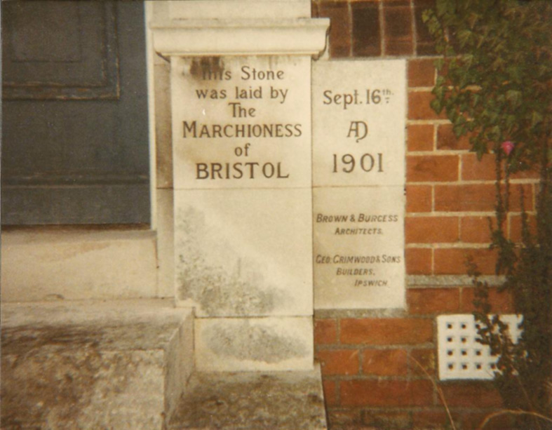 Foundation Stone Mills Grammar School