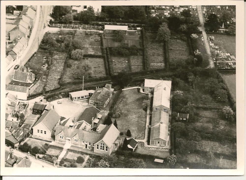 Mills Grammer School, 1960s Aerial View