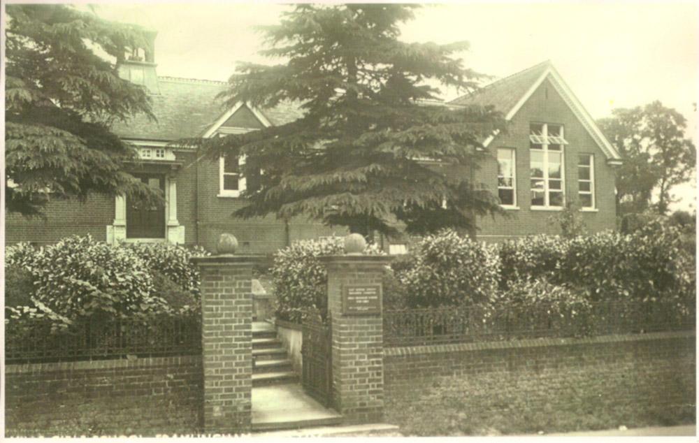 Mills Grammer School c.1960