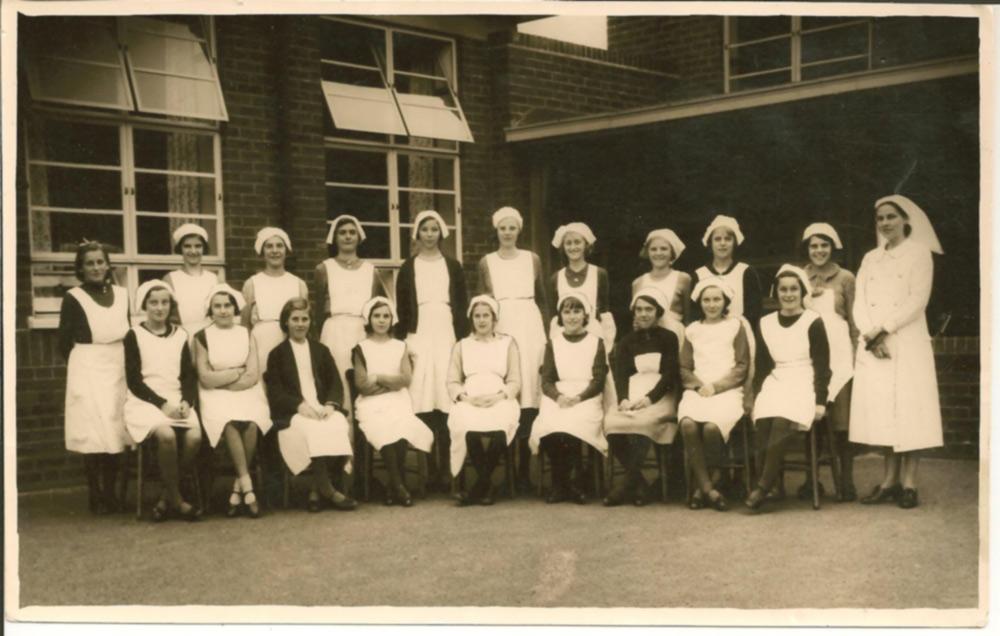 Area School Class 1938