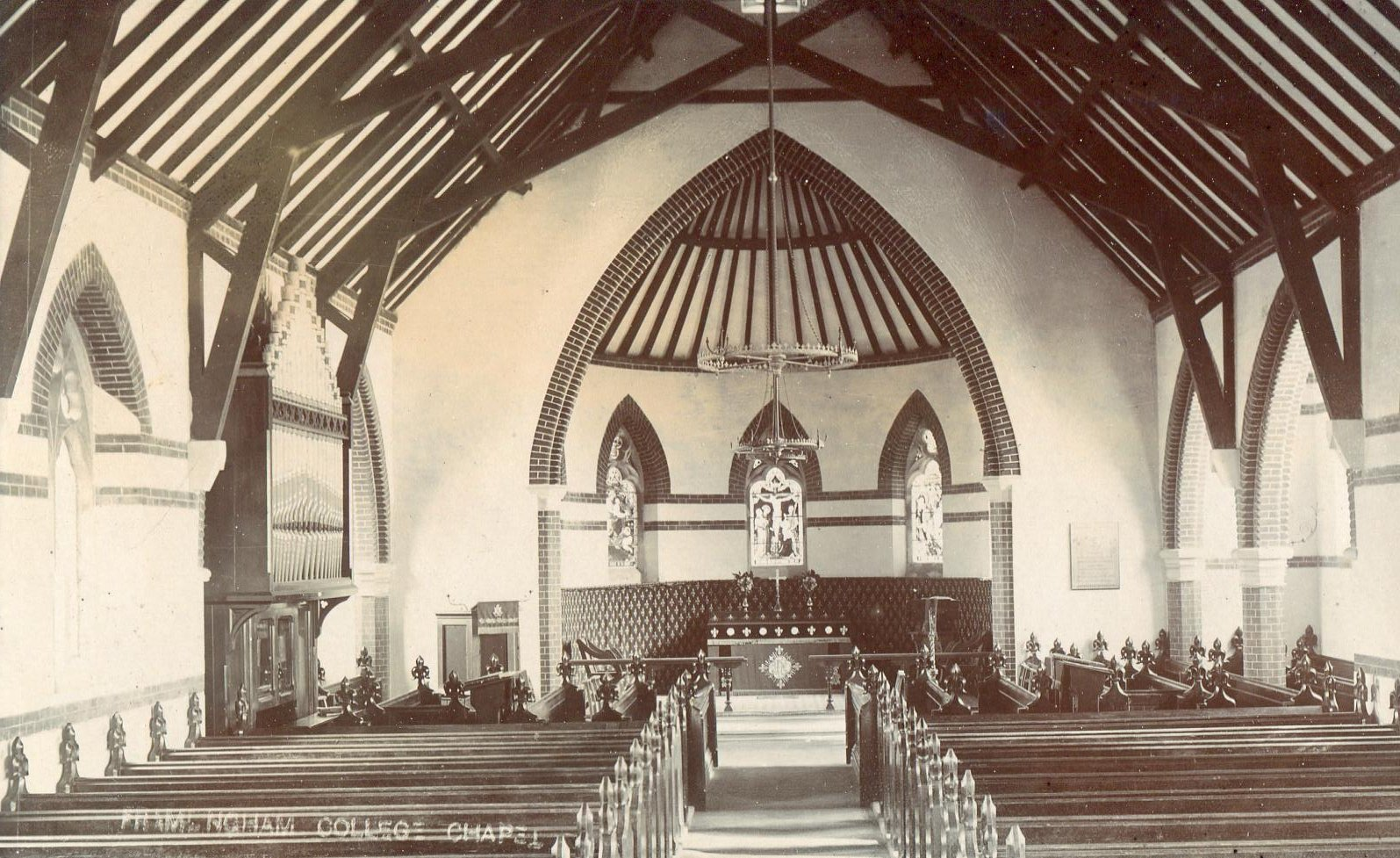 College Chapel interior