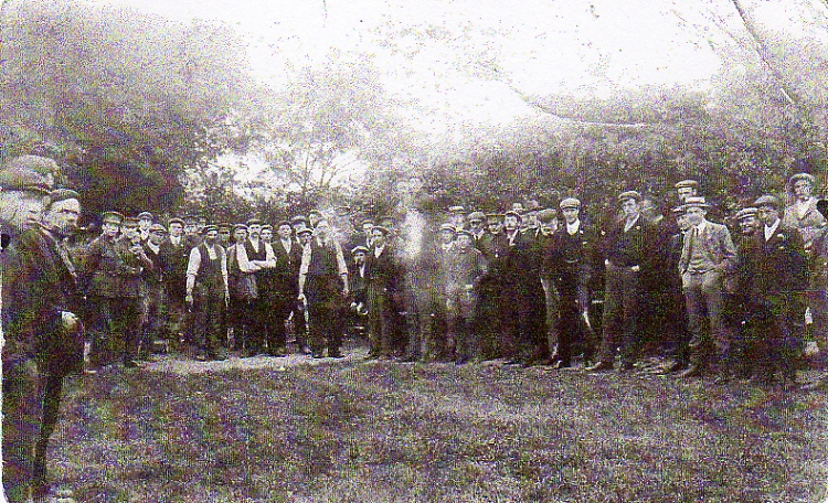 Framlingham Quoits Club, c. 1914-18