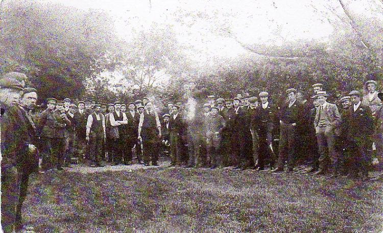 Framlingham Quoits Club, c. 1914-18