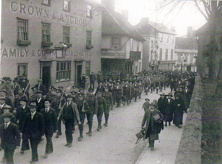 War Memorial Dedication Parade, 1921