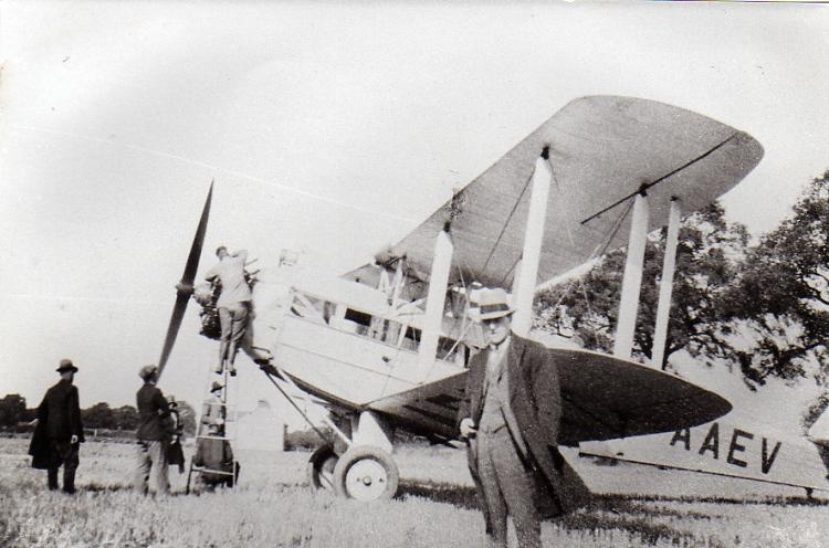 De-Havilland Aircarft, 1933