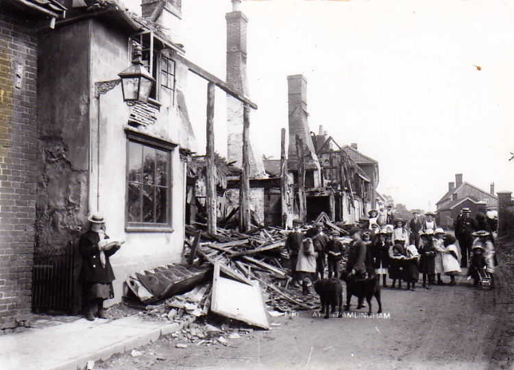 Fore Street Fire, 1905