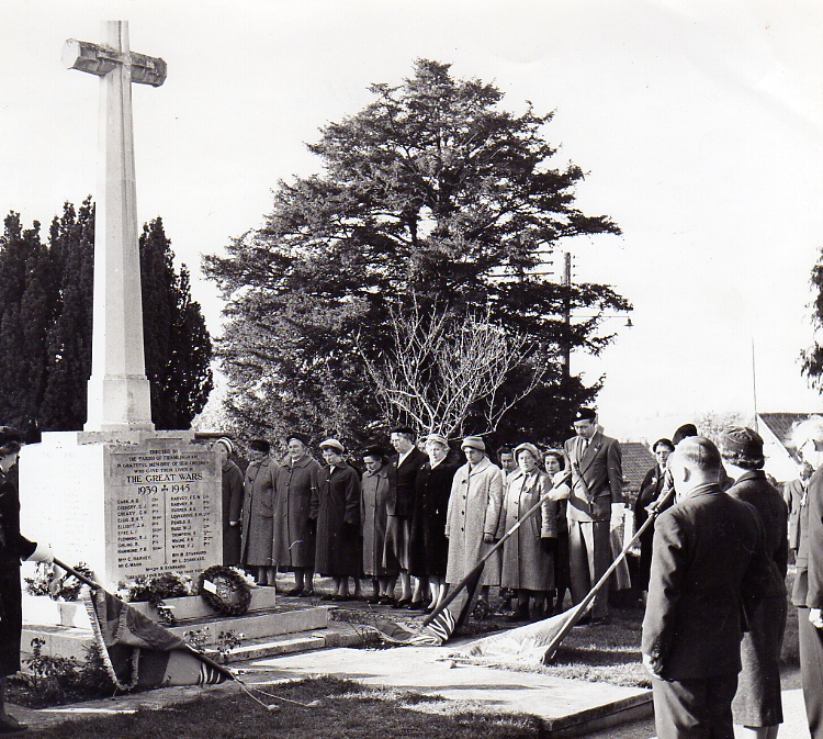 Armistice Day Service, 1950