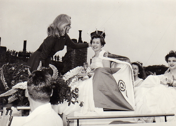 Crowning Of 1957 Gala Queen
