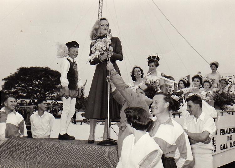 Shirley Eaton, 1957