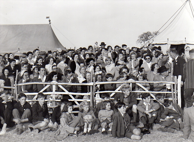 Castle Meadow Crowd, c.1953