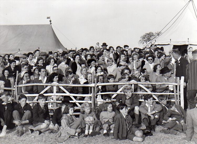 Castle Meadow Crowd, c.1953