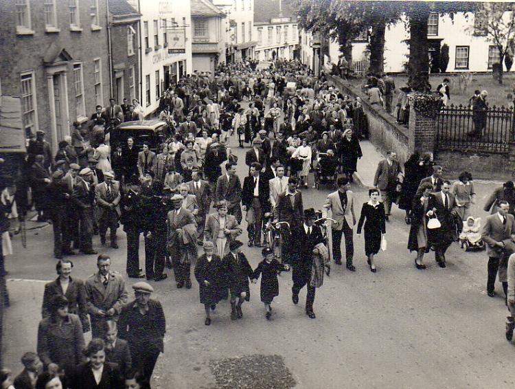 Gala Crowds, c.1953