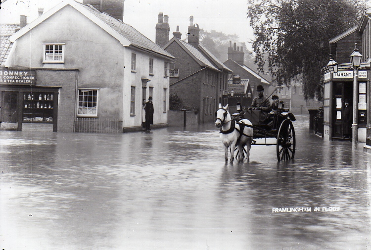 Albert Place Flood, 1912