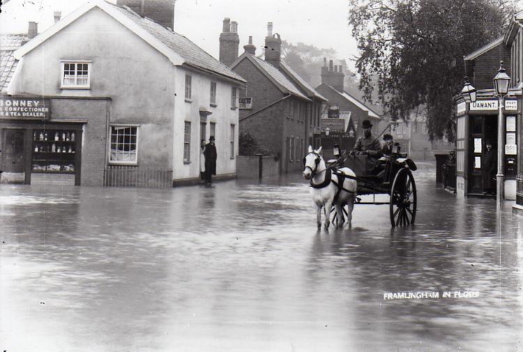 Albert Place Flood, 1912