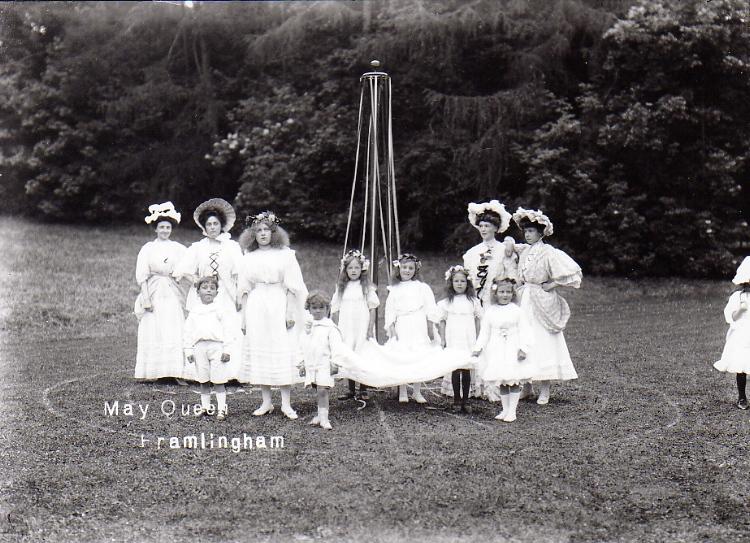 Maypole Dance, 1908