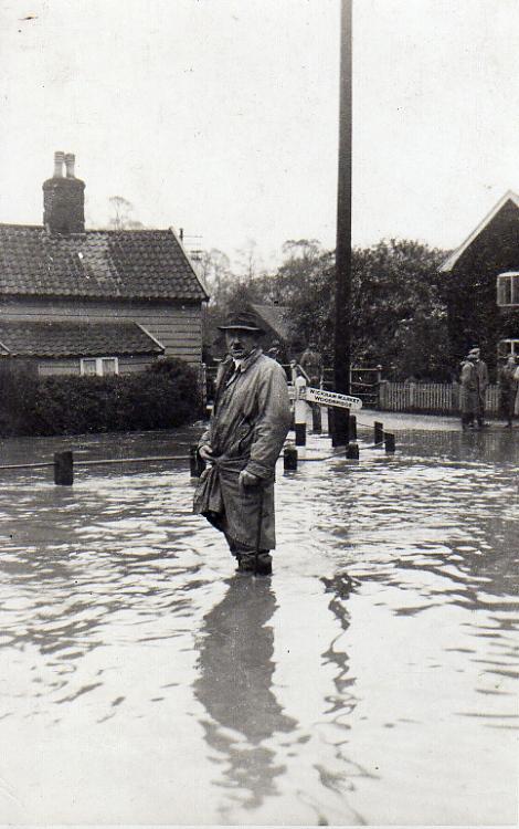 Flood In Albert Place