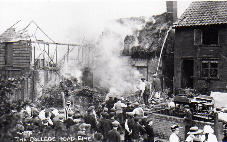 College Road Fire, 1912