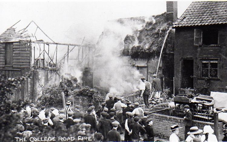 College Road Fire, 1912