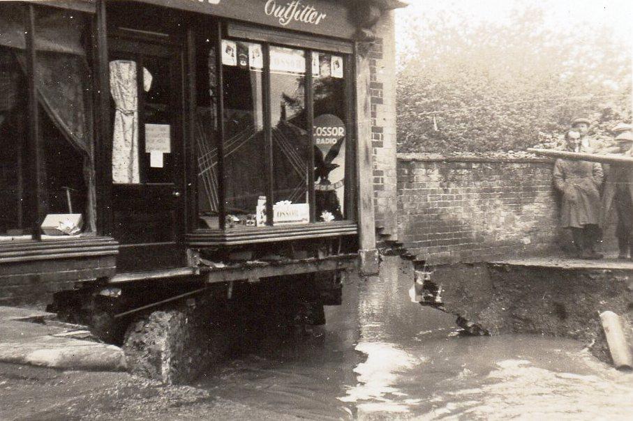Station Road, July 1937