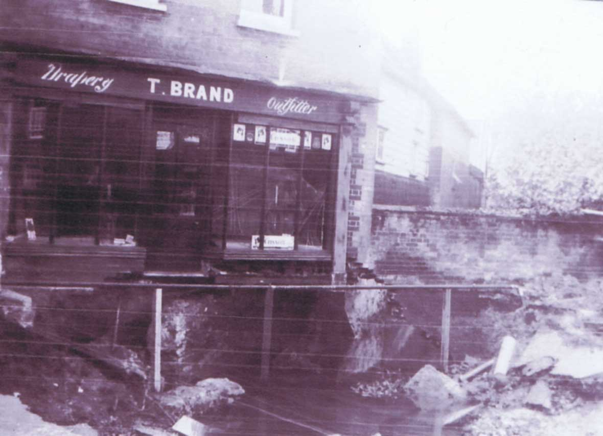 Station Road Flood Damage