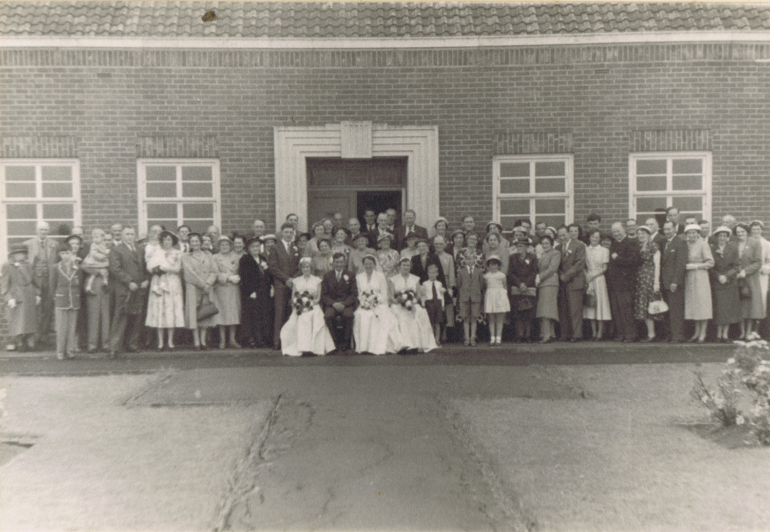 Wedding Group, 1956