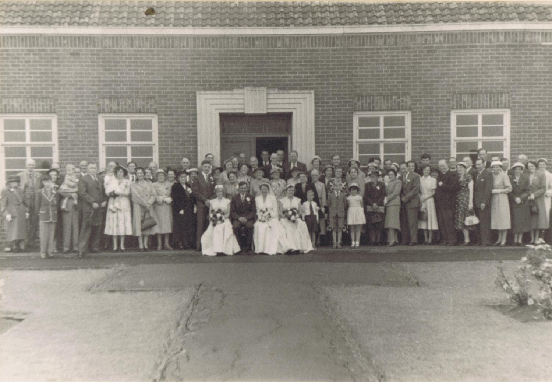 Wedding Group, 1956