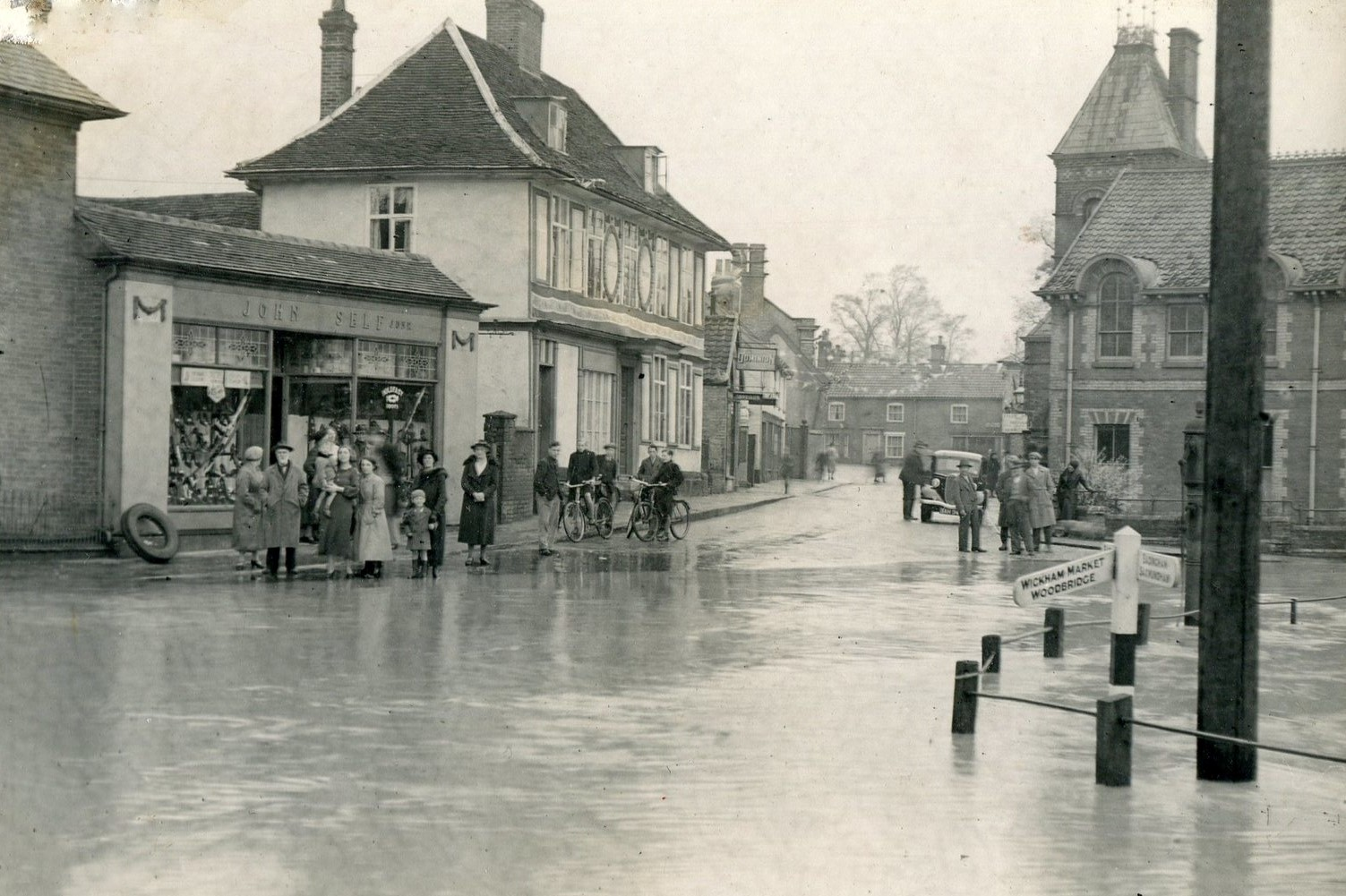 Albert Place flood