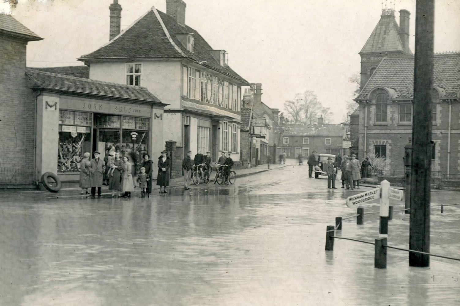 Albert Place flood