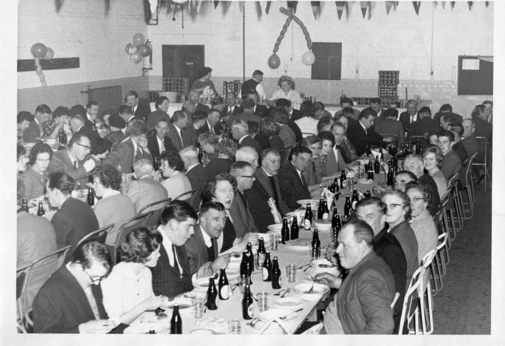Clarke's dinner, 1962