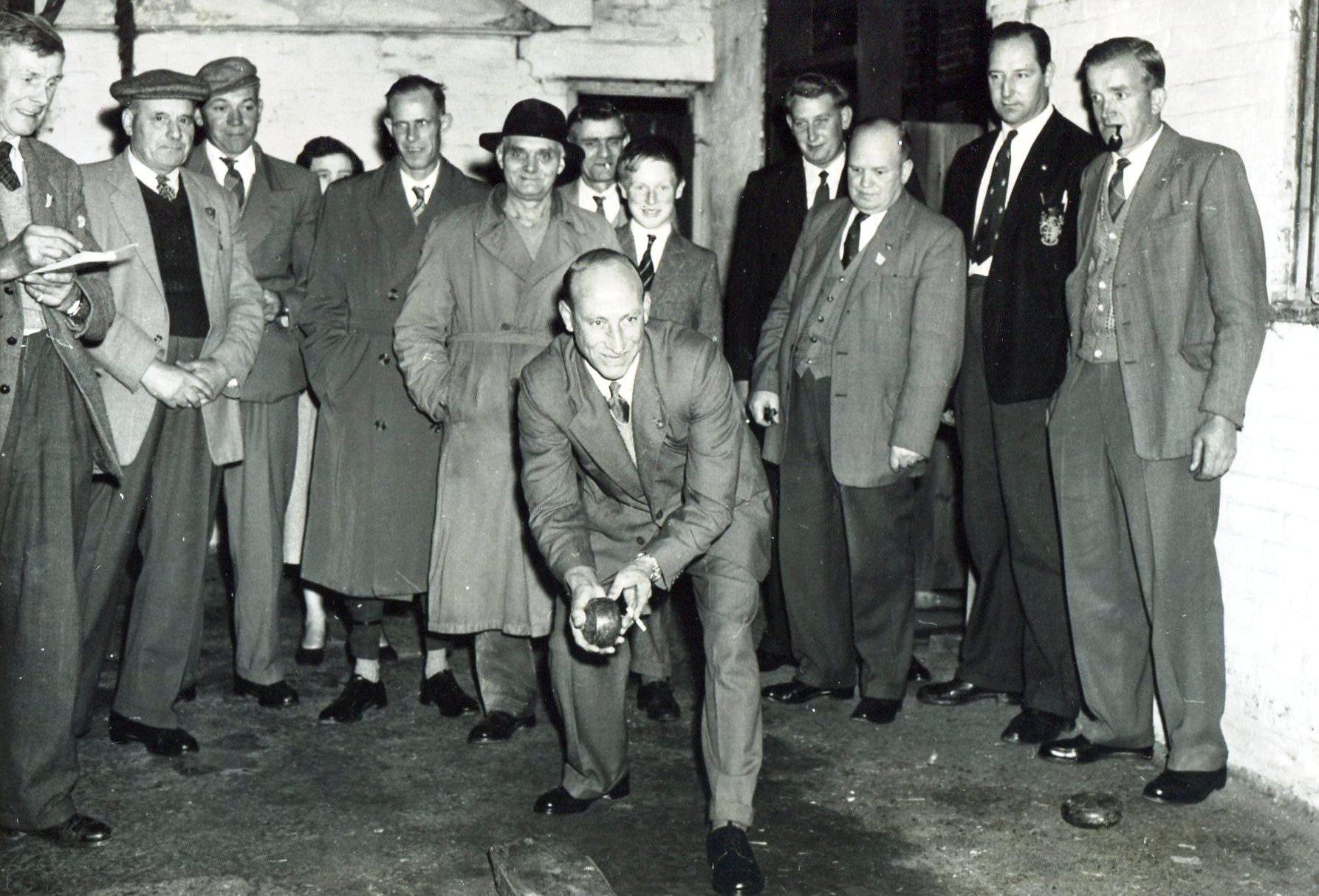 British Legion, 3 pin bowling at Railway Inn