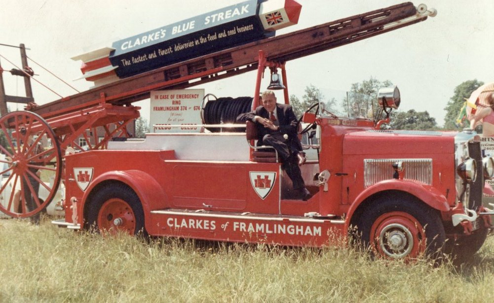 Clarke's  fire engine