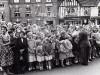 Crowds Await The Arrival Of Princess Matgaret