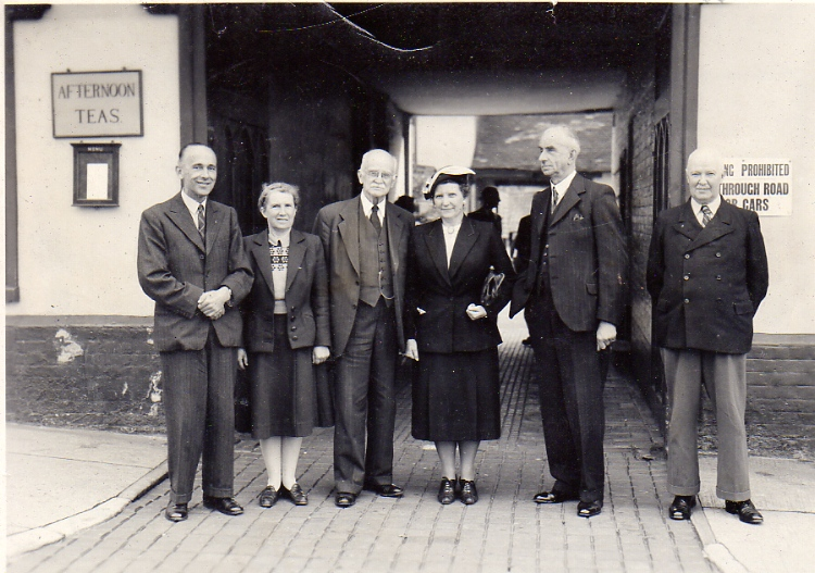 Visit Of John Merriam, 1950