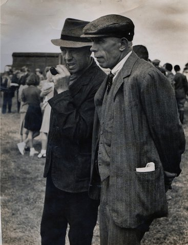 Henry Clack and Stanley Mayhew