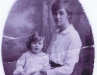 Leslie Heron And Mother, c.1922
