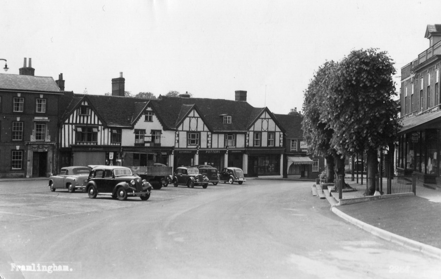 Market Hill, c. 1955