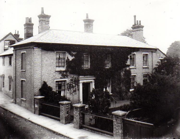 Well Close Square, c.1900
