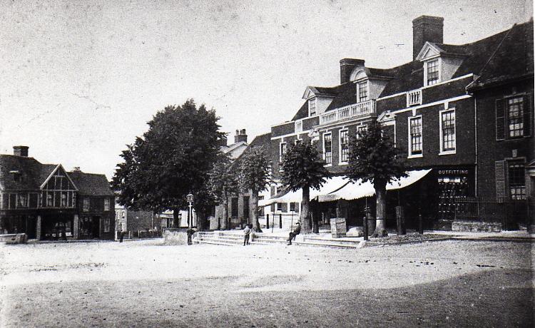 Market Hill, c.1886