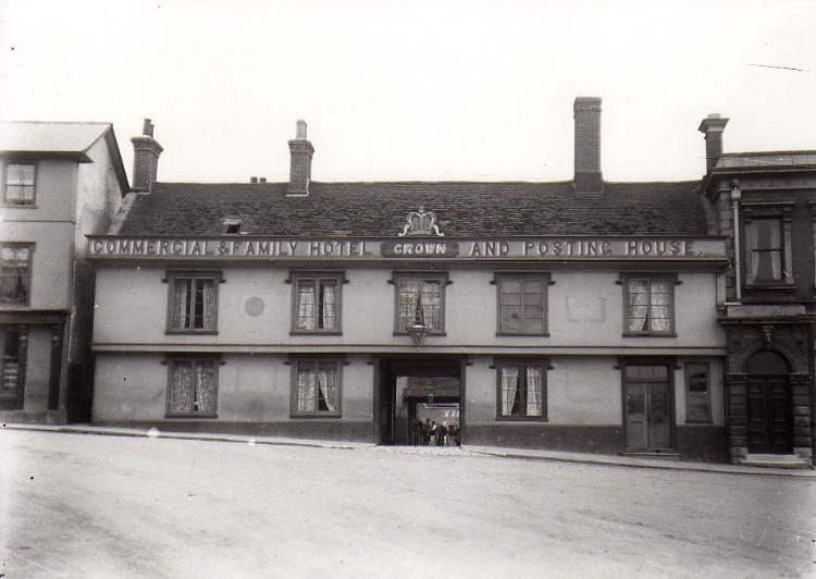 Crown Hotel, c.1906
