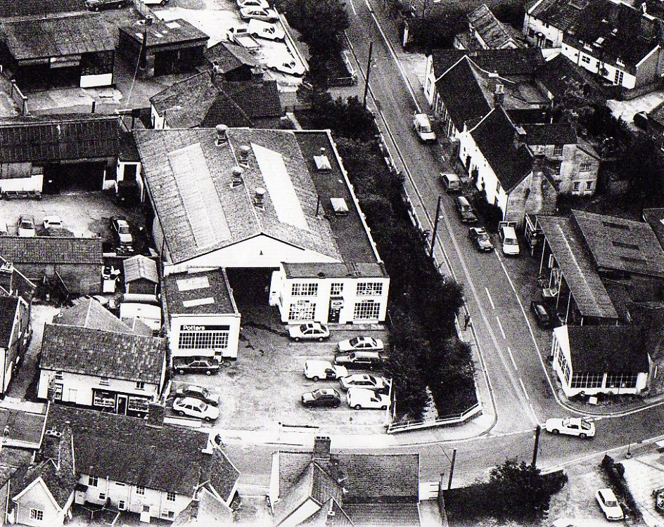Aerial View Of Potters  Workshops